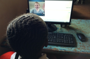 Child Skyping